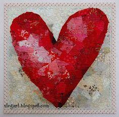 """""""Valentine's Day Heart"""" Free Quilt pattern !!"""