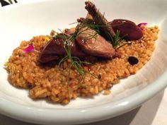 Arroz meloso de pollo de corral. Reserva online en EligeTuPlato.es