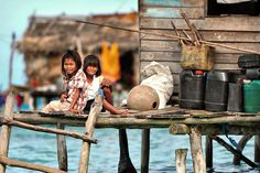 Bajau Laut, also known as sea gypsies, children of Semporna, Malaysia, by Jason Matthew Tye, via 500px