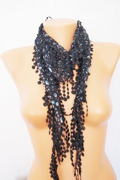Black turquoise  Floral Yemeni with lace by SpecialFabrics on Etsy