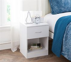 Dorm room bedside table, dorm nightstand