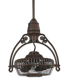 Rustic - Lodge Fanimation Old Havana Rust Ceiling Fan - traditional - ceiling lighting - by Lamps Plus Caged Ceiling Fan, Vintage Fans, Antique Fans, Outdoor Ceiling Fans, Rustic Lighting, Lighting Ideas, Cabin Lighting, Lighting Solutions, Vintage Lighting