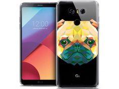 Coque Crystal Gel LG G6 Extra Fine Polygon Animals - Chien - 7,90 €