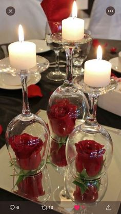 Hosting a Valentine's Day Party? Then these Valentine's Day Table Decor Ideas shall help you put up a romantic & sweet Valentine's Day decorations. Romantic Room Surprise, Romantic Date Night Ideas, Romantic Birthday, Romantic Room Decoration, Romantic Bedroom Decor, Romantic Dinner Setting, Romantic Dinners, Romantic Picnics, Desayuno Romantico Ideas