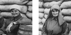 De heldinnen van Pervijze - Elisabeth Knocker (links) en Mairi Chisholm (rechts) | WOI