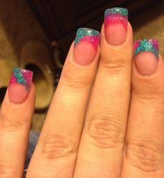 Acrylic nails by Kytanna