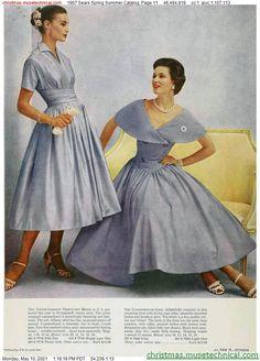 Vintage Outfits, 1950s Outfits, Vintage Dresses, Vintage Clothing, Fifties Fashion, Retro Fashion, Vintage Fashion, 1950s Style, Vintage Mom