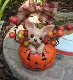 Chihuahua Halloween by ErinsK9Collectibles.deviantart.com on @deviantART