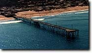 The Nags Head Fishing Pier--one of the oldest and longest piers on the Outer Banks!