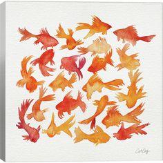 Found it at Joss & Main - Goldfish Canvas Print