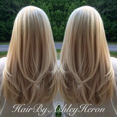 15 So-Pretty Hairstyles for Long Hair Multidimensional blonde with long layers Meaghan L – Farbige Haare Blonde Layers, Blonde Layered Hair, Hair Layers, Layered Haircuts For Long Hair, Haircuts For Long Hair With Layers, Long Blonde Haircuts, Layered Long Hair, Haircut Long Hair, Straight Hairstyles For Long Hair