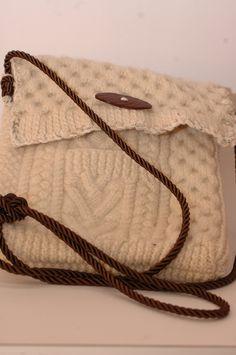Recycled Sweater Handbag by Nytka on Etsy