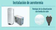 ¿Conoces las ventajas de la instalación de aerotermia en el hogar para obtener calefaccion, acs e incluso refrigeración? Ventajas de usar una tecnologia lim