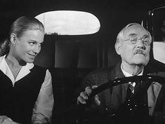 Marianne Borg and Victor Sjöström - Les Fraises sauvages (Smultronstället) - Ingmar Bergman, 1957.