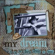 love the lay out rodeo cowboy country garth