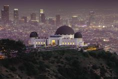 Griffith Park Observatory- Where I discovered the most breathtaking view of my new city- Los Angeles!