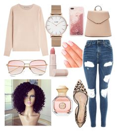 """""""keepin it casual and classy"""" by brianna-goodwin on Polyvore featuring Vince, CLUSE, MANGO, Lipstick Queen, Elegant Touch, Tory Burch, Sam Edelman and Topshop"""
