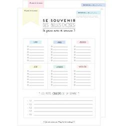 """Bloggeuse génialisime à suivre absolument, tous les mois des planning- semainier - ect .... """"La parfaite to do list à imprimer - Vie de Miettes"""""""