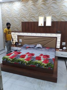 BEDROOM 0084 Bedroom Cupboard Designs, Wardrobe Design Bedroom, Bedroom Closet Design, Bedroom Furniture Design, Box Bed Design, Corner Sofa Design, Double Bed Designs, Designer Bed Sheets, Interior Ceiling Design