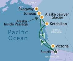Norwegian Cruise Line's 7 Day Glacier Bay Cruise (Pearl) with 1 night in Seattle Cruise Tips, Cruise Vacation, Glacier Bay Alaska, Norwegian Pearl, Hawaiian Cruises, Ketchikan Alaska, Alaska Travel, Alaska Trip, Norwegian Cruise Line