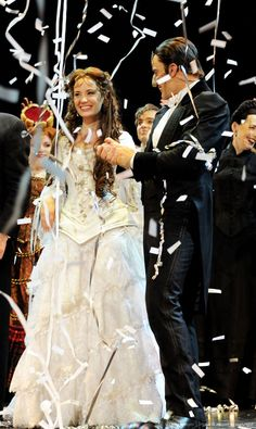The Phantom of the Opera. 25th Anniversary. Sierra Boggess and Ramin Karimloo.