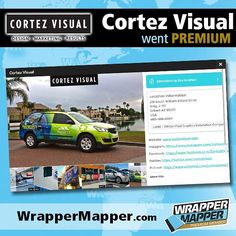 Big Welcome to our latest Premium Member!  Say hi to @cortezvisual   Promoting Wrappers Around the World   Are You On The Map?   WEB: http://ift.tt/1fC1vAh FB: http://ift.tt/1D7uQxf TWITTER: http://www.twitter.com/wrappermapper  #wrappermapper #truckwrap #carwrap  #vinylwrap #sportscar #picoftheday #exoticcar #mustang #chromewrap  #carporn #instagood #beautiful #beauty #cool #awesome #Porsche #Ferrari  #lamborghini #bmw #mercedes #bugatti #whips #rollsroyce #audi #evo #like