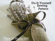 Little Burlap Petal Cone PDF Pattern ePattern for your DIY rustic wedding.