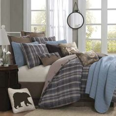 Woolrich Hadley Plaid Bedding By Woolrich Bedding, Comforters, Comforter Sets, Duvets, Bedspreads, Quilts, Sheets, Pillows: The Home Decorat...