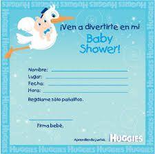 Resultado de imagen para invitacion para baby shower niño para editar