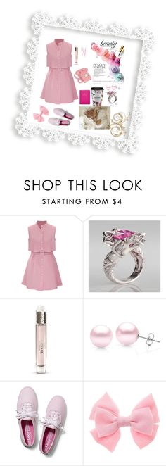 """""""Douce pastel"""" by marthecha ❤ liked on Polyvore featuring BOBBY, Burberry, Suzy Levian, ETUÍ, Keds, women's clothing, women, female, woman and misses"""