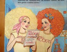 Vintage Barbie and the Rockers illustration