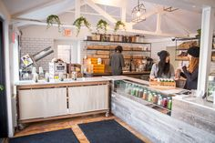 Greenhouse Juice Co  - Raw, organic cold-pressed juice and nut milk in small batches every day. Photo via BlogTO