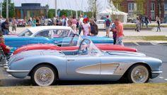 1958 - Chevrolet Corvette - side