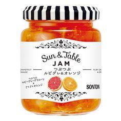 Sun&Table <つぶつぶルビグレ&オレンジ> - 食@新製品 - 『新製品』から食の今と明日を見る!