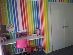 My daughters rainbow room