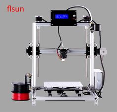 2017 New Metal Prusa i3 3d Printer Kit,3d printer for sale With 2 Rolls Filament For Free
