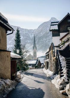 The Austrian Journal: Hallstatt Winter Diary - Nicoline's Journal