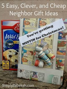 I love these cheap and easy neighbor gift ideas!