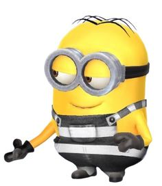 Minion 2, Despicable Me, Prisoner, Animation, Cute, Fictional Characters, The Simpsons, Kawaii, Animation Movies