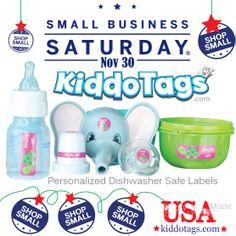 Save 30% today #shopsmall  code: shopsmall Kiddotags.com