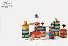 Design modernista e pensamento moderno sobre crianças