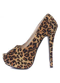 Fashionable Brown Leopard Platform Pumps With Peep Toe Pump Shoes, Shoe Boots, Shoes Heels, Fashion Shoes, Fashion Jewelry, Swag Shoes, Leopard Print Heels, Brown Leopard, Platform Pumps