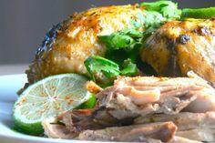 Paleo Crock Pot Recipes   Chili Cilantro Lime Crock Pot Chicken