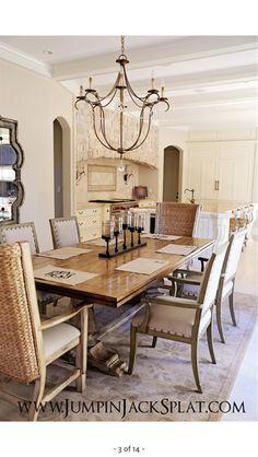 Sala da pranzo provenzale: 29 idee stile provenzale | Cottage style ...