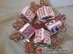 Gingerbread cookies #sintagespareas Sweets Recipes, Desserts, Gingerbread Cookies, Favorite Recipes, Treats, Homemade, Greek, Christmas, English