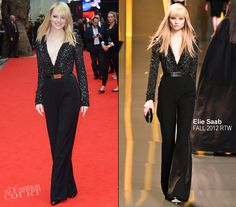 I am in love with this Elie Saab jumpsuit