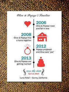 20 faire-part de mariage originaux (et vraiment mignons)
