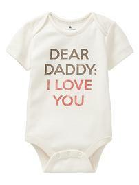 Favorite Mommy & Daddy love bodysuit