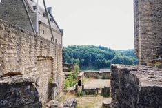 Best Castles in Luxembourg! Fairytale & Medieval Palaces   solosophie Belgium, Mount Rushmore, Fairy Tales, Medieval, Cathedral, Castles, Palaces, Mountains, Traveling