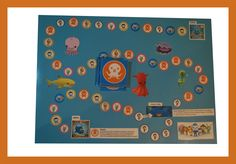 Octonauts boardgame Octonauts Party, Board Games, Flag, Country, Tabletop Games, Rural Area, Science, Country Music, Flags